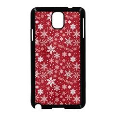 Merry Christmas Pattern Samsung Galaxy Note 3 Neo Hardshell Case (black) by Nexatart