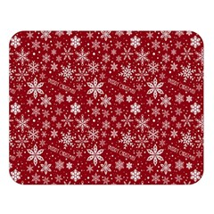 Merry Christmas Pattern Double Sided Flano Blanket (large)