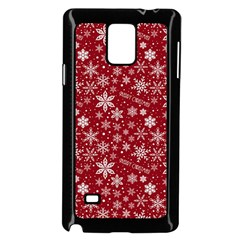Merry Christmas Pattern Samsung Galaxy Note 4 Case (black)