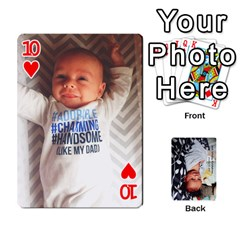 Jwf2017 By Jackie   Playing Cards 54 Designs   5q4ggrkzl03o   Www Artscow Com Front - Heart10