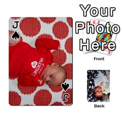Jack Jwf2017 By Jackie   Playing Cards 54 Designs   5q4ggrkzl03o   Www Artscow Com Front - SpadeJ