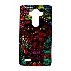 Abstract Psychedelic Face Nightmare Eyes Font Horror Fantasy Artwork Lg G4 Hardshell Case