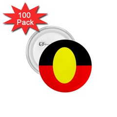 Flag Of Australian Aborigines 1 75  Buttons (100 Pack)