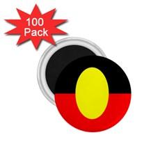 Flag Of Australian Aborigines 1 75  Magnets (100 Pack)