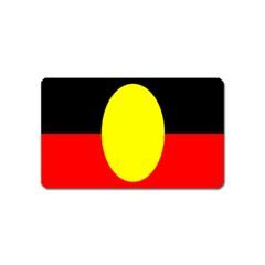 Flag Of Australian Aborigines Magnet (name Card)