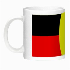 Flag Of Australian Aborigines Night Luminous Mugs by Nexatart