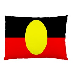 Flag Of Australian Aborigines Pillow Case (two Sides)