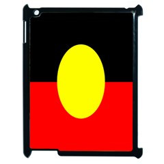 Flag Of Australian Aborigines Apple Ipad 2 Case (black)