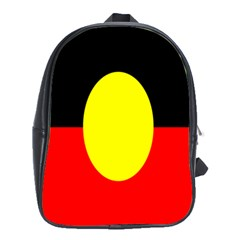 Flag Of Australian Aborigines School Bags (xl)  by Nexatart