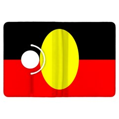 Flag Of Australian Aborigines Kindle Fire Hdx Flip 360 Case by Nexatart