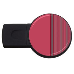 Lines Usb Flash Drive Round (2 Gb) by ValentinaDesign