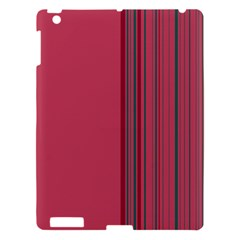 Lines Apple Ipad 3/4 Hardshell Case by ValentinaDesign