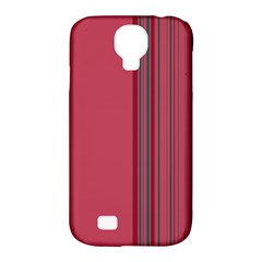 Lines Samsung Galaxy S4 Classic Hardshell Case (pc+silicone) by ValentinaDesign