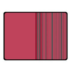 Lines Double Sided Fleece Blanket (small)  by ValentinaDesign