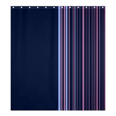 Lines Shower Curtain 66  X 72  (large)  by ValentinaDesign