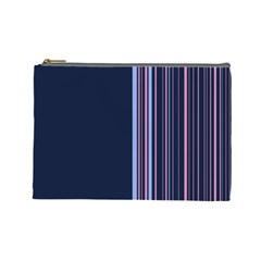 Lines Cosmetic Bag (large)  by ValentinaDesign