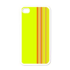 Lines Apple Iphone 4 Case (white) by ValentinaDesign