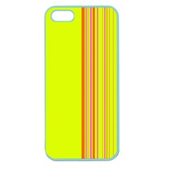 Lines Apple Seamless Iphone 5 Case (color) by ValentinaDesign