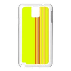 Lines Samsung Galaxy Note 3 N9005 Case (white) by ValentinaDesign