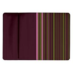 Lines Samsung Galaxy Tab 10 1  P7500 Flip Case by ValentinaDesign