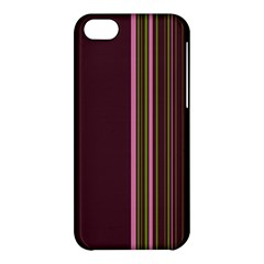 Lines Apple Iphone 5c Hardshell Case by ValentinaDesign