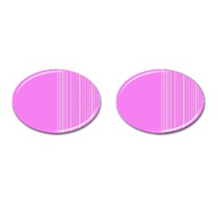 Lines Cufflinks (oval) by ValentinaDesign
