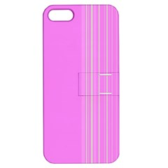 Lines Apple Iphone 5 Hardshell Case With Stand by ValentinaDesign