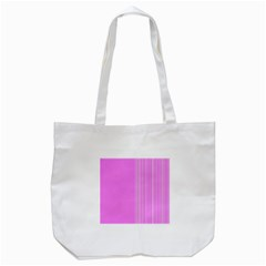Lines Tote Bag (white) by ValentinaDesign
