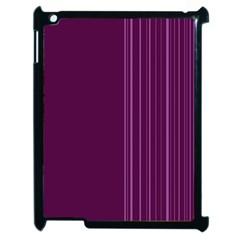 Lines Apple Ipad 2 Case (black) by ValentinaDesign