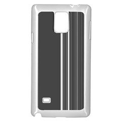 Lines Samsung Galaxy Note 4 Case (white) by ValentinaDesign