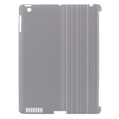 Lines Apple Ipad 3/4 Hardshell Case (compatible With Smart Cover) by ValentinaDesign