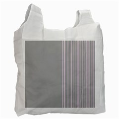 Lines Recycle Bag (one Side) by ValentinaDesign