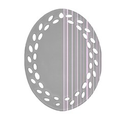 Lines Ornament (oval Filigree) by ValentinaDesign