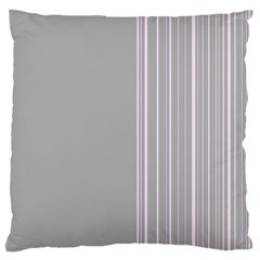 Lines Large Flano Cushion Case (two Sides) by ValentinaDesign