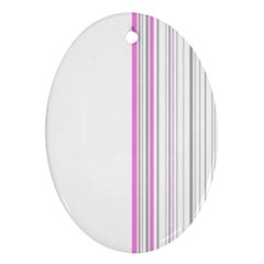 Lines Ornament (oval) by ValentinaDesign