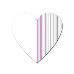 Lines Heart Magnet by ValentinaDesign