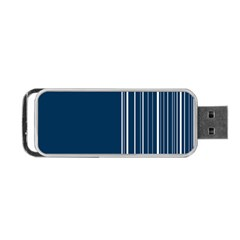 Lines Portable Usb Flash (two Sides) by ValentinaDesign