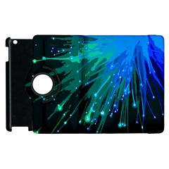 Big Bang Apple Ipad 3/4 Flip 360 Case by ValentinaDesign