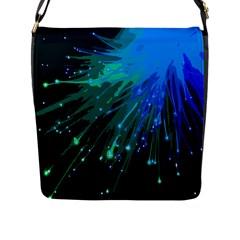 Big Bang Flap Messenger Bag (l)  by ValentinaDesign
