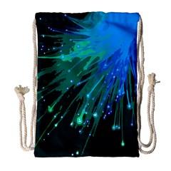Big Bang Drawstring Bag (large) by ValentinaDesign