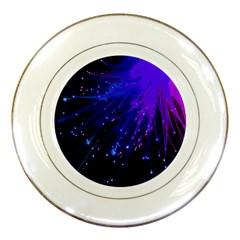 Big Bang Porcelain Plates by ValentinaDesign