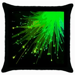Big Bang Throw Pillow Case (black) by ValentinaDesign