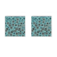 Abstract Aquatic Dream Cufflinks (square) by Ivana