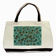 Abstract Aquatic Dream Basic Tote Bag (two Sides) by Ivana