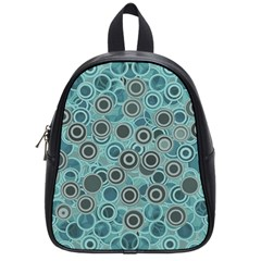 Abstract Aquatic Dream School Bags (small)  by Ivana