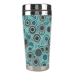 Abstract Aquatic Dream Stainless Steel Travel Tumblers by Ivana