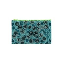 Abstract Aquatic Dream Cosmetic Bag (xs) by Ivana