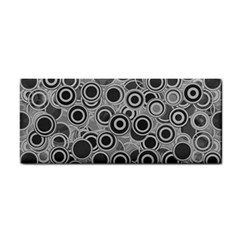 Abstract Grey End Of Day Cosmetic Storage Cases by Ivana