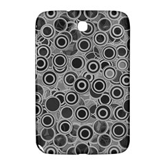 Abstract Grey End Of Day Samsung Galaxy Note 8 0 N5100 Hardshell Case  by Ivana