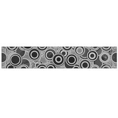 Abstract Grey End Of Day Flano Scarf (large) by Ivana